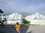 A camp in Haiti