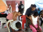 Giving embodied relief at the third clinic, loving touch that helps heal