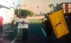 Mobilizacion en Barranca